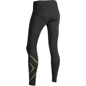 2XU MCS Run Compression Mallas Mujer, black/gold reflective